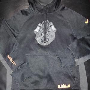 Boys Nike Dri-Fit Black Hoodie Size Small
